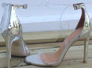 Asos Silber Sandaletten