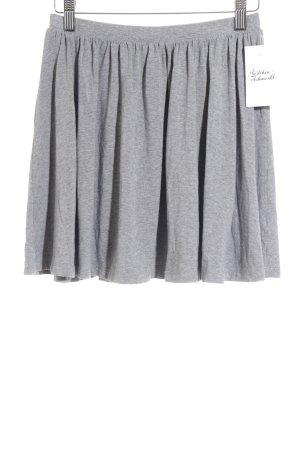 Asos Skaterrock grau meliert Street-Fashion-Look