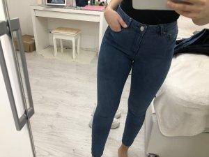 Asos Skinny jeans donkerblauw-blauw