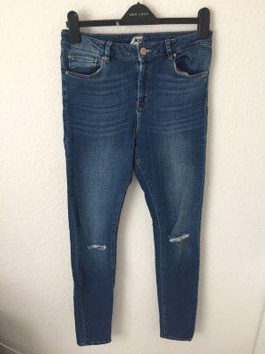 Asos Skinny Jeans steel blue