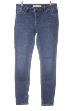 Asos Skinny Jeans steel blue casual look