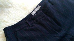 Asos Jersey Pants dark blue-neon red
