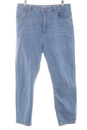 Asos Slim Jeans blau Casual-Look