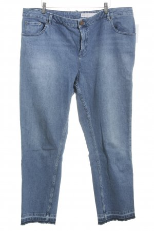 Asos Slim Jeans stahlblau Casual-Look