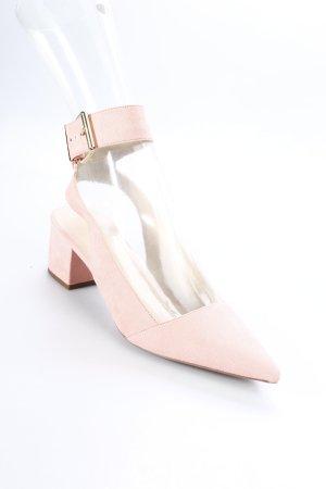 Asos Slingback-Pumps hellrosa Eleganz-Look