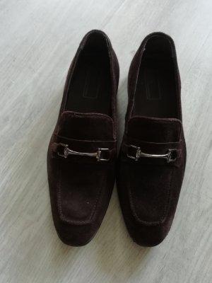 Asos Pantofola argento-marrone scuro