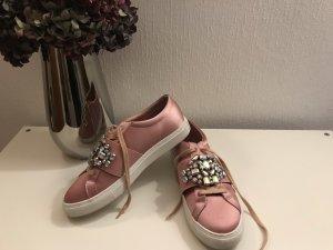 Asos Basket à lacet rose clair