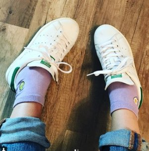 Asos Socken Ei Avocado Flieder Spiegelei Blogger Statement