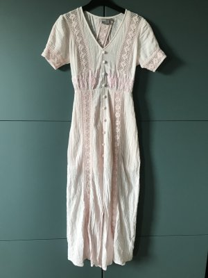 asos, Sommer Kleid, Stickereien. Rosa, XS 34, neu