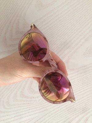 Asos Sonnenbrille verspiegelt Marble Rosa Pastell Mirror