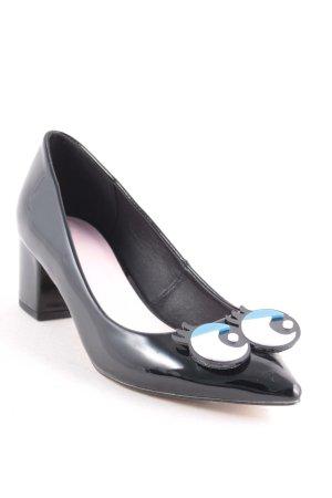 Asos Spitz-Pumps schwarz extravaganter Stil