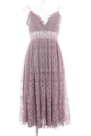 Asos Lace Dress mauve elegant