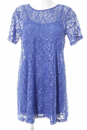Asos Lace Dress blue party style