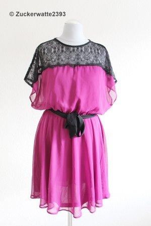 Asos Robe de cocktail violet-noir