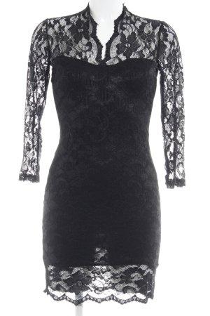 Asos Kanten jurk zwart bloemen patroon Geweldige look
