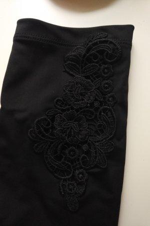 Asos pantalonera negro poliamida