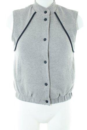 Asos Sports Vests light grey-black flecked casual look