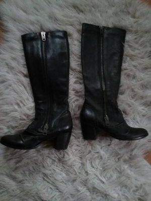 Asos Stiefel aus Leder