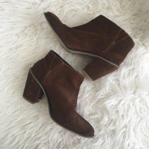 Asos Stiefeletten Chelsea Boots 39 UK 6 Braun Festival Blogger Boho