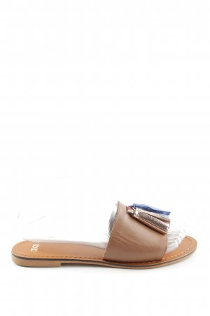 Asos Beach Sandals brown casual look