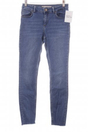 Asos Stretch Jeans blau Casual-Look