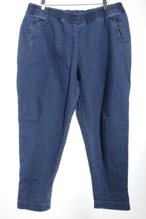 Asos Pantalone elasticizzato blu fiordaliso stile atletico