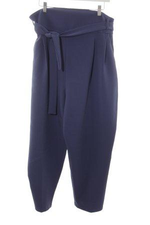 Asos Pantalón elástico azul acero estilo «business»