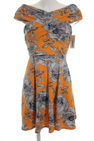 Asos Stretchkleid florales Muster Casual-Look