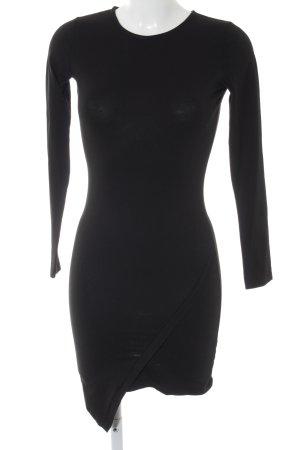 Asos Stretchkleid schwarz schlichter Stil