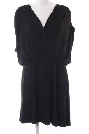 Asos Vestido elástico negro estilo sencillo