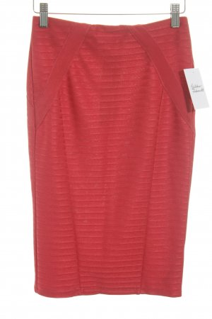Asos Stretchrock rot klassischer Stil