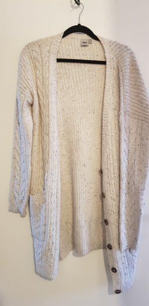 ASOS Strickjacke Wolle Weiß 42 Oversize