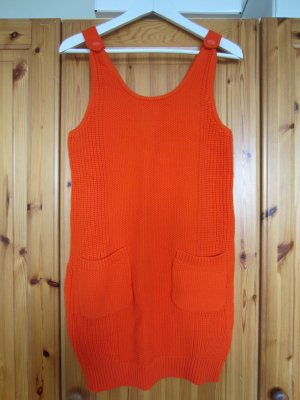 Asos Strickkleid orange Baumwolle Gr. 38 NEU