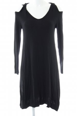 Asos Gebreide jurk zwart simpele stijl
