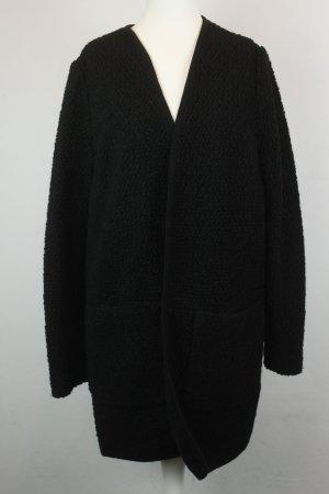 Asos Strickmantel Cardigan Gr. 40 schwarz