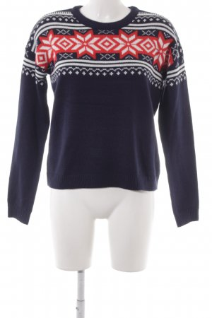 Asos Knitted Sweater Aztec pattern '90s style