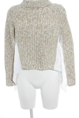 Asos Pull tricoté gradient de couleur style décontracté