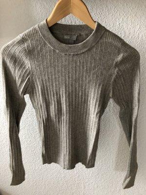 Asos Maglione lavorato a maglia grigio chiaro
