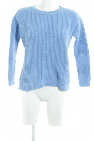 Asos Knitted Sweater cornflower blue casual look