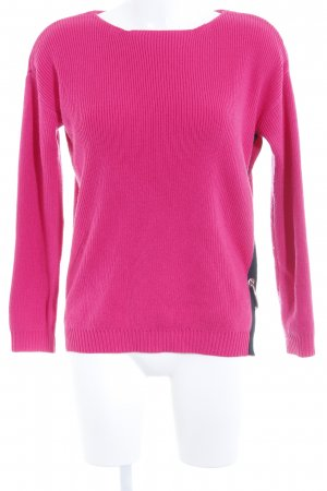 Asos Knitted Sweater magenta casual look