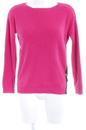 Asos Pull tricoté magenta style décontracté