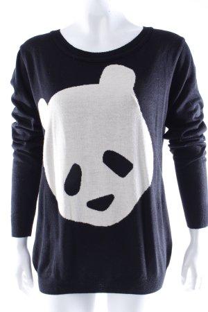 Asos Strickpullover Pandamotiv