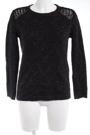 Asos Gebreide trui zwart casual uitstraling