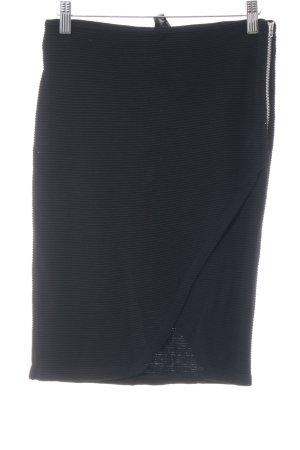 Asos Falda de punto negro look casual
