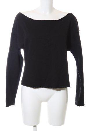Asos Sweat Shirt black casual look