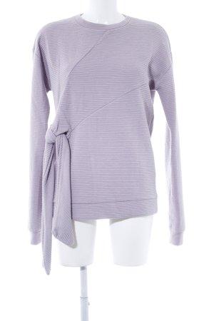 Asos Sweatshirt blasslila Casual-Look
