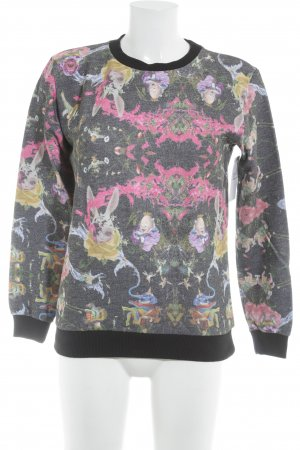 Asos Sweatshirt Motivdruck Casual-Look