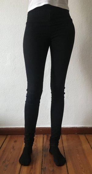 Asos Tall - High Waist Skinny Jeans mit hohem Bund - schwarz - 28/36