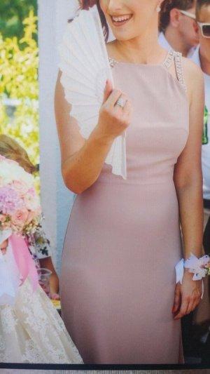 Asos Tall Ball Dress pink