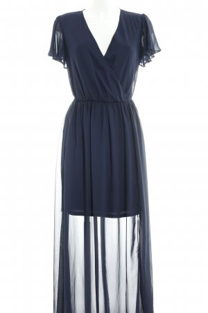 Asos Tall Maxi Dress dark blue elegant